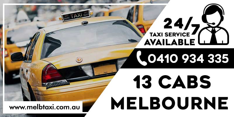 13 Cabs Melbourne