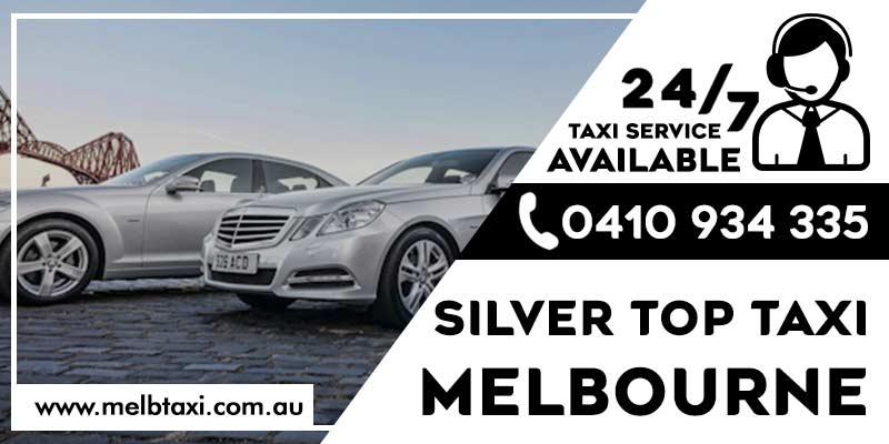 Silver top taxi Melbourne