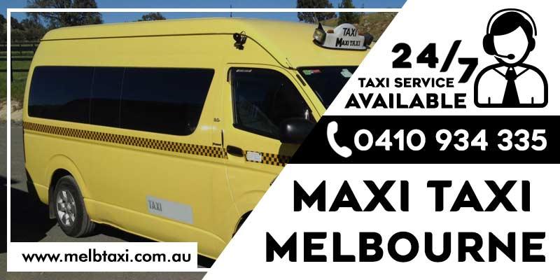 Maxi taxi melbourne
